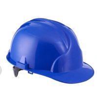 Каска защитная ЛИДЕР строительная синяя