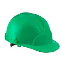 Каска защитная ЛИДЕР строительная зеленая