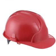 Каска защитная ЛИДЕР строительная красная