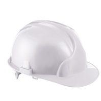 Каска защитная ЛИДЕР строительная белая
